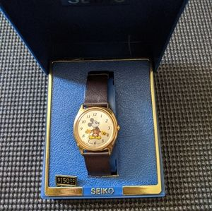 Seiko Mickey Mouse Watch